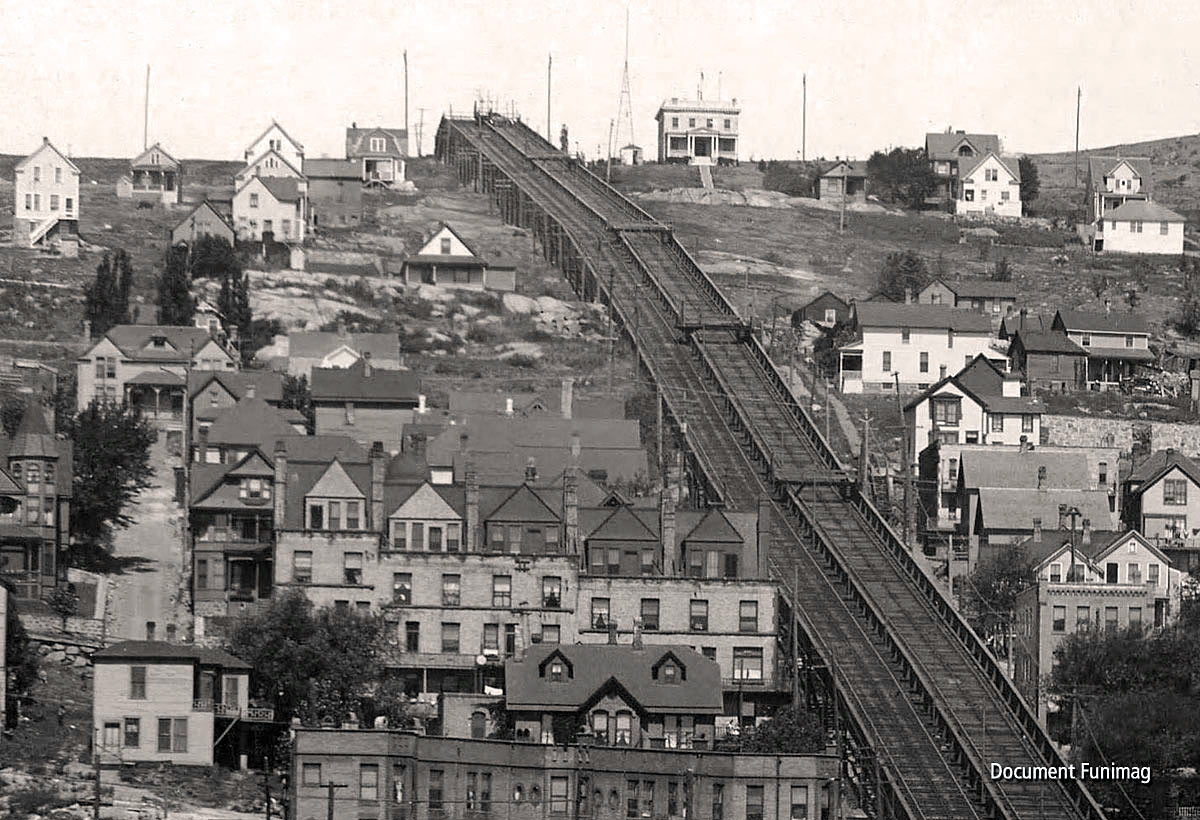 1905- Rebuild of the incline