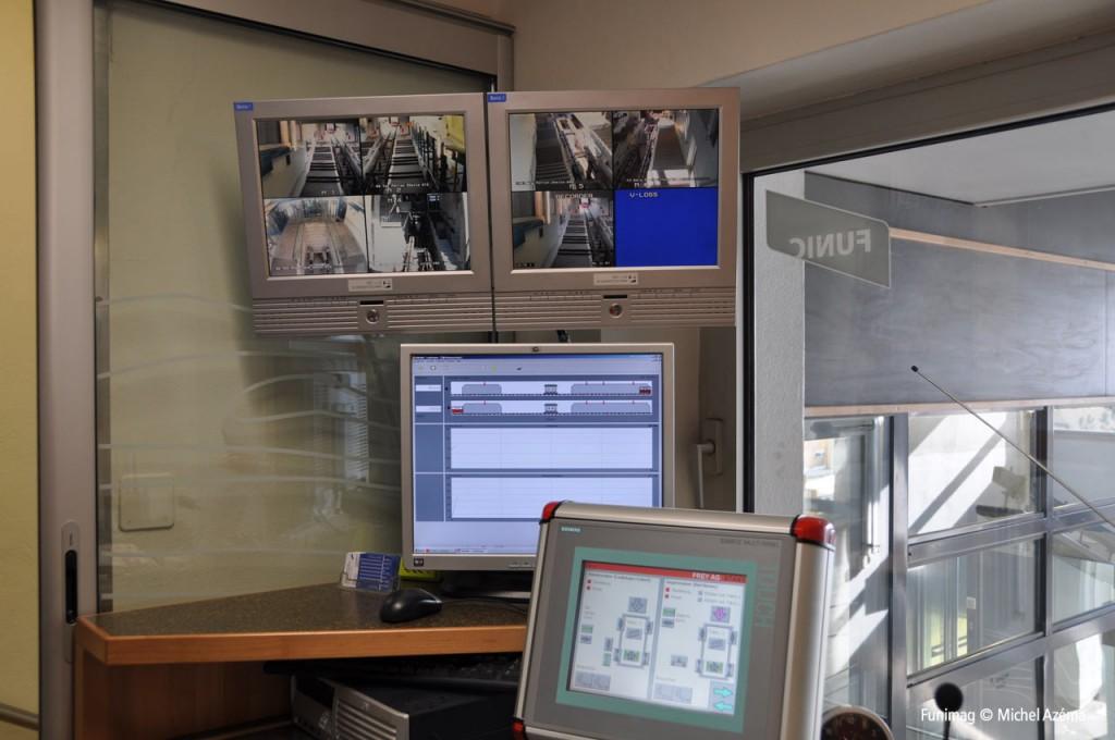 Poste de contrôle d'Evilard / Control station at Evilard