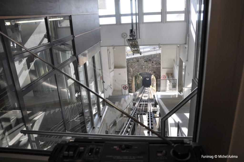 La voie depuis le poste de contrôle / The track from contol station