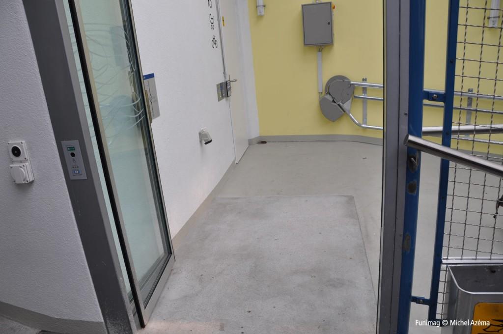 Accès mobilité réduite à Bienne / Disability access at Bienne