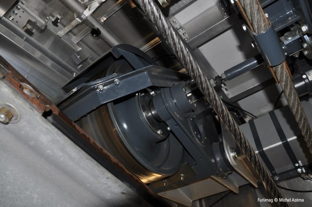 Roue passive / Passive wheel