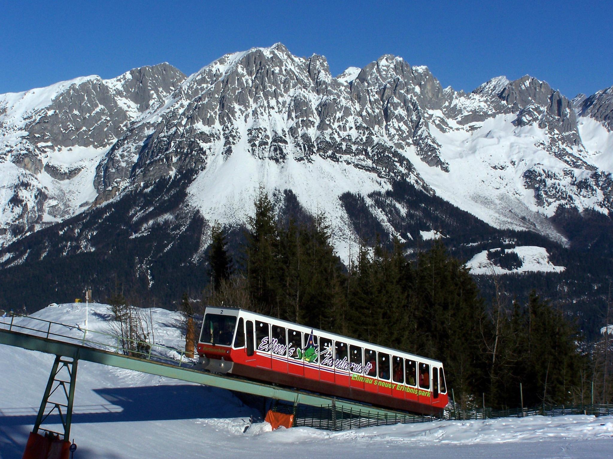 Standseilbahn Hartkaiserbahn, Ellmau, Austria