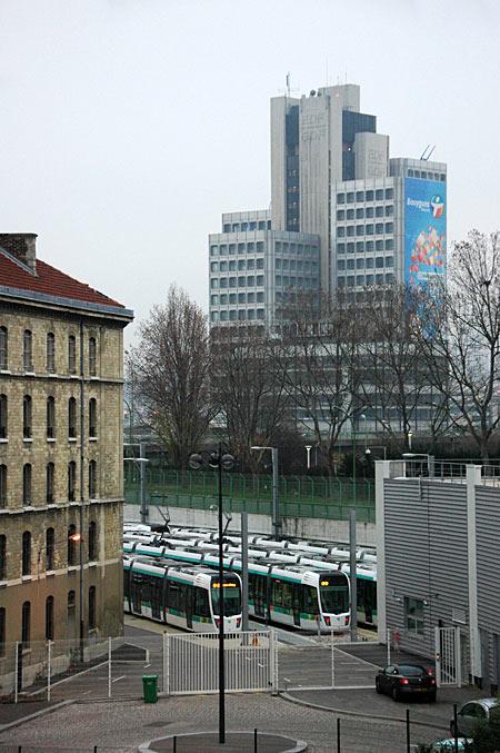 Tramway T3 - Dépot de la Porte de Sèvres