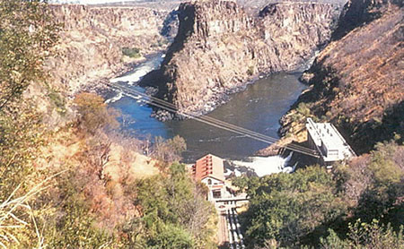 Victoria Falls Hydro power station