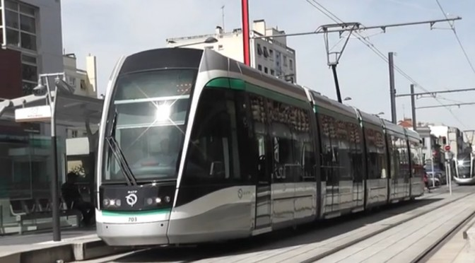 Nouveau Tramway T7 – Villejuif – Orly – Athis Mons