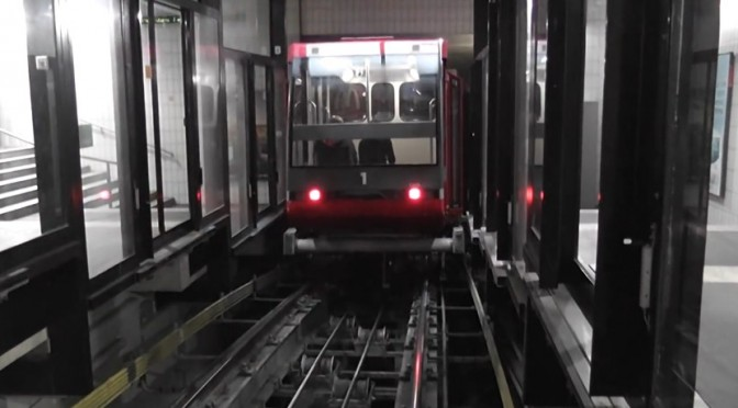 Video of funicular Fun'ambule at Neuchatel