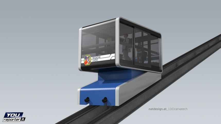 Rocca di Papa - a new funicular
