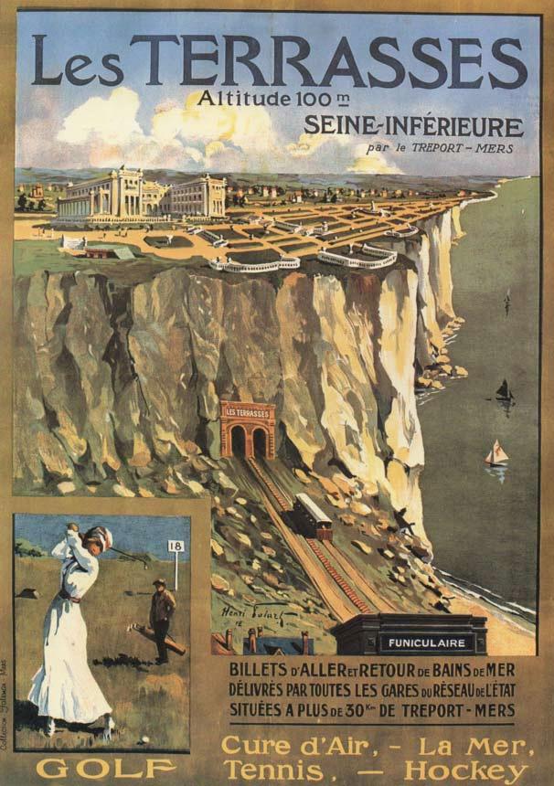 Le Tréport - Les Terrasses (vers 1905)
