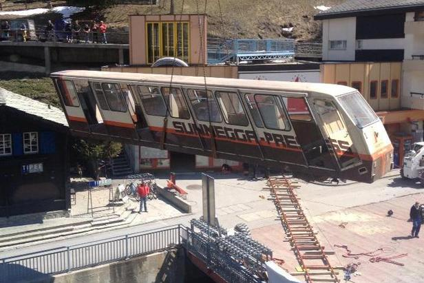 Zermatt Sunnegga – the new carriage