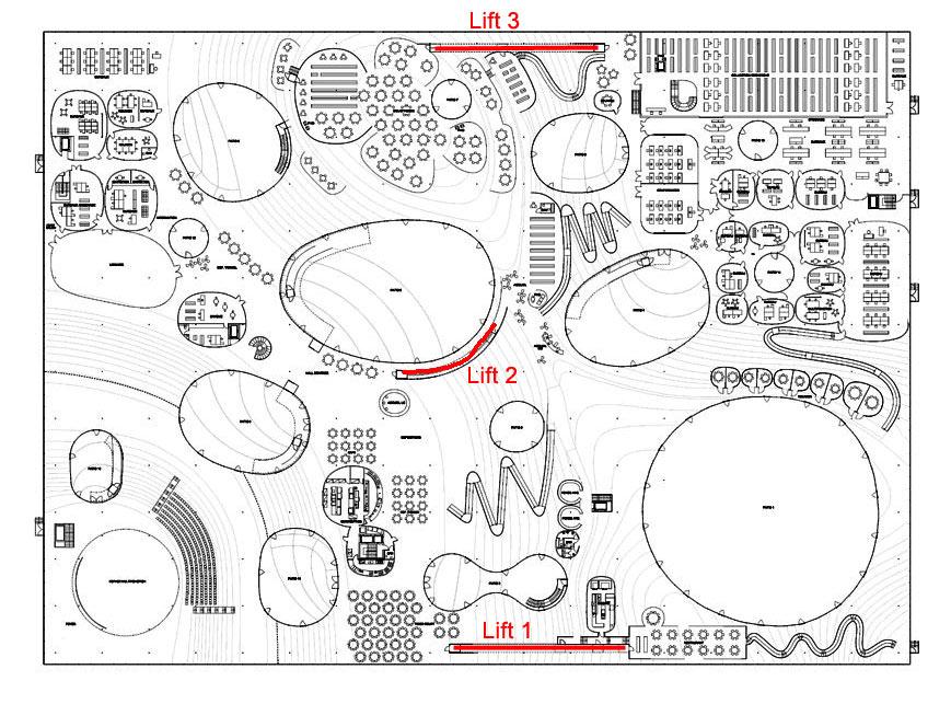 Plan du Rolex Learning Center