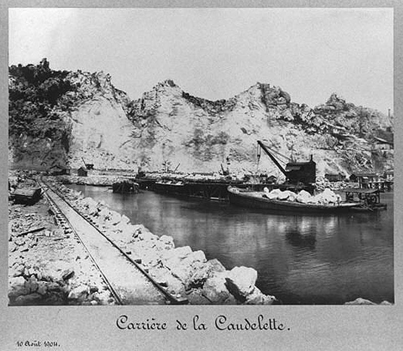Carrière de la Caudelette (1904)
