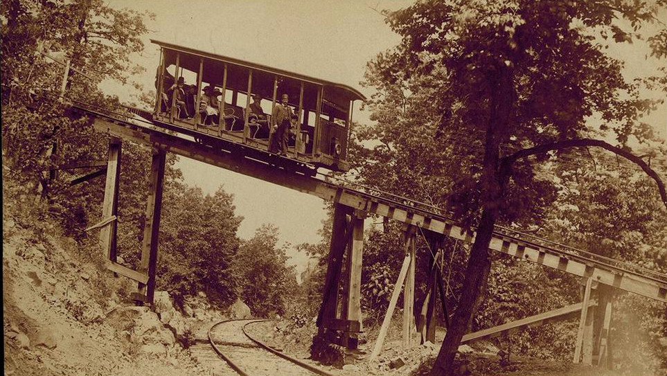 Chattanooga - Lookout Mountain First Incline (1886-1898) (photo Picnooga)