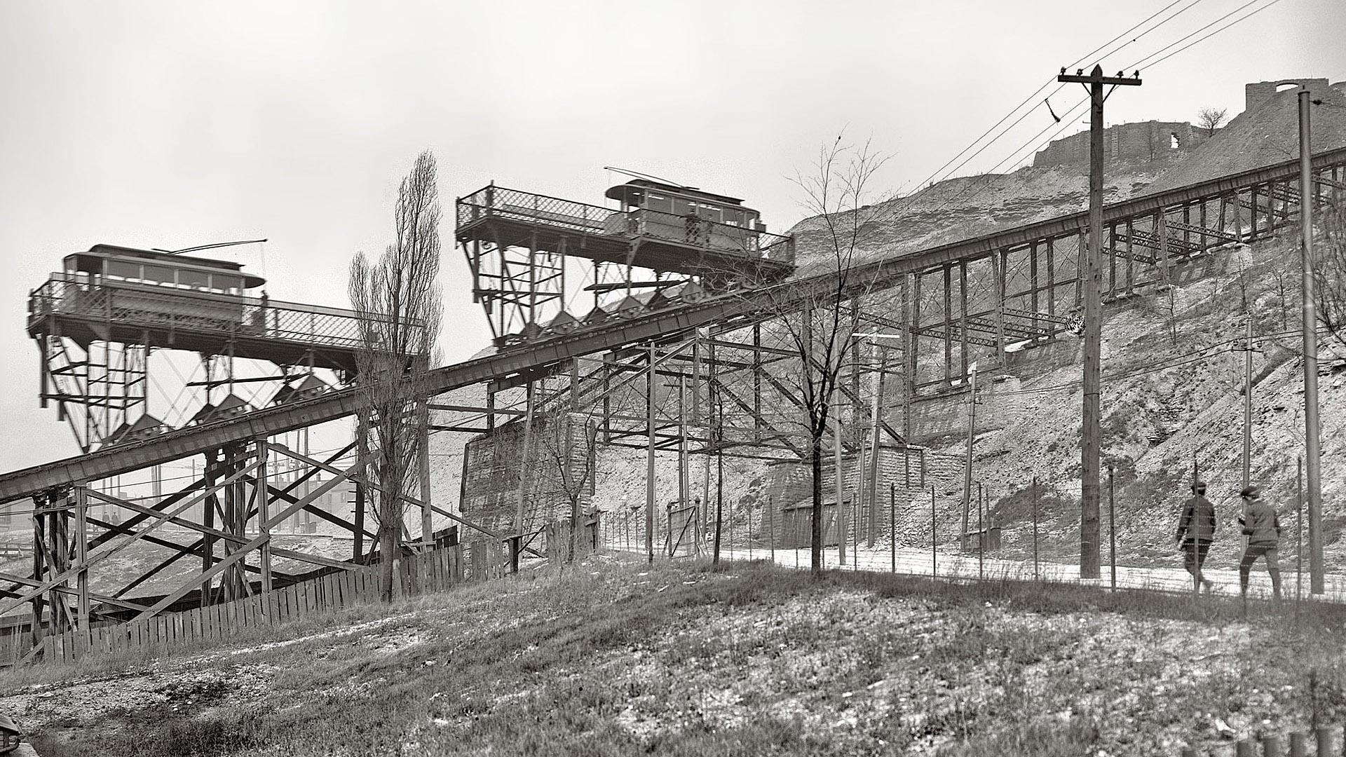 Cincinnati / Bellevue Incline (1876-1926)