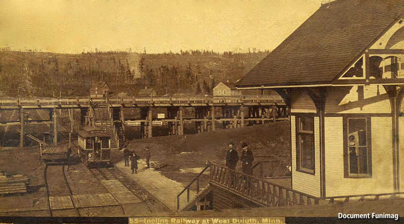 Duluth Belt Line Incline (near 1900)