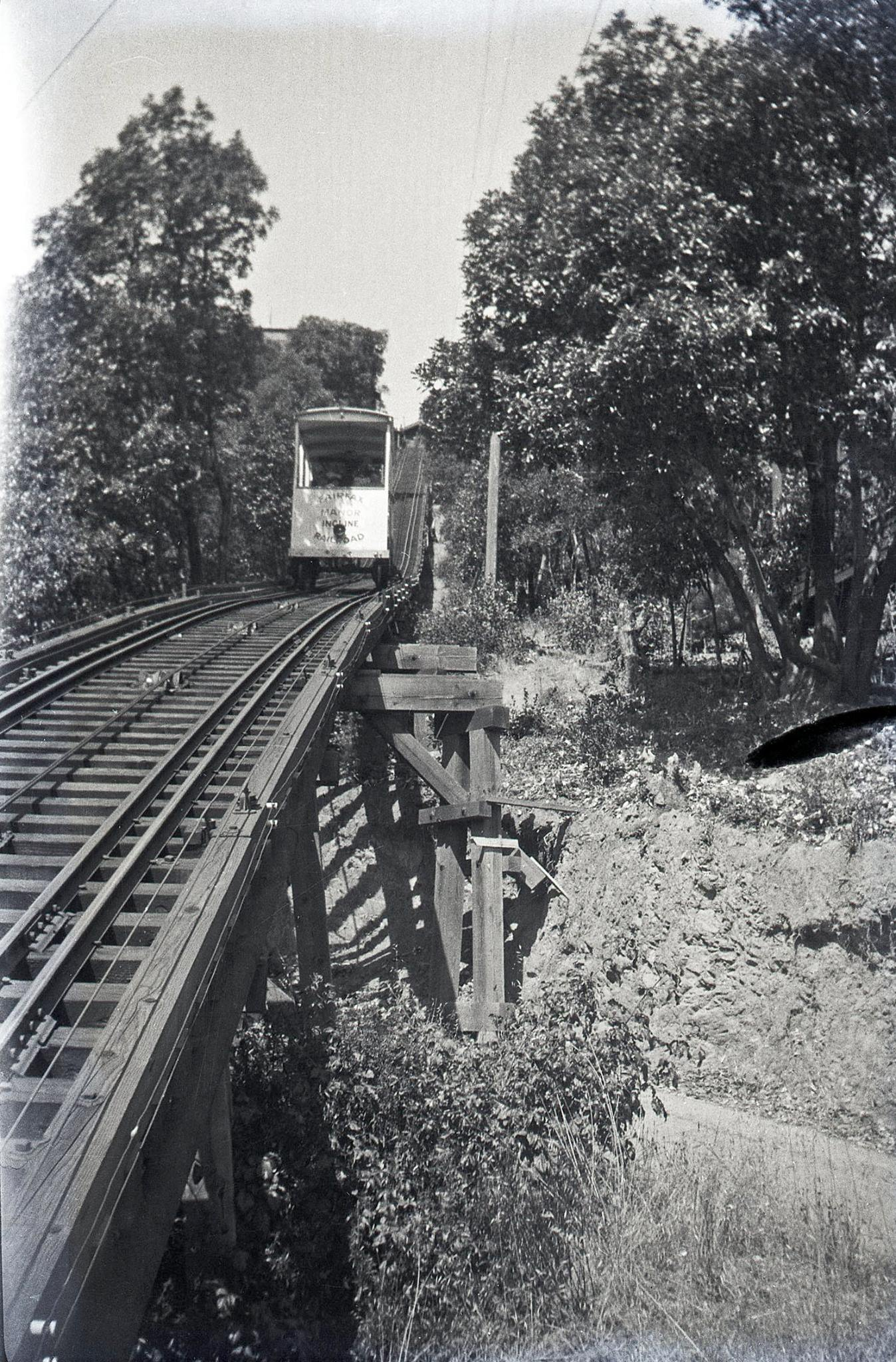 Fairfax Manor Inclined Railroad