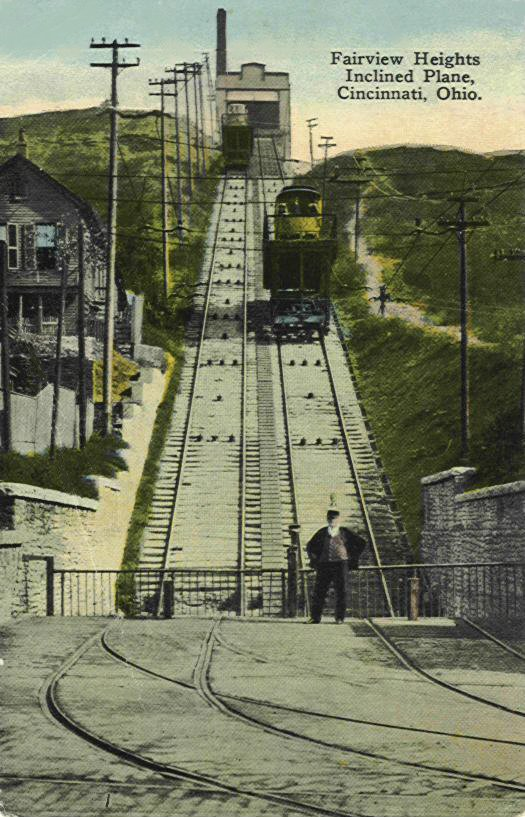 Cincinnati / Fairview Incline (1892-1923)