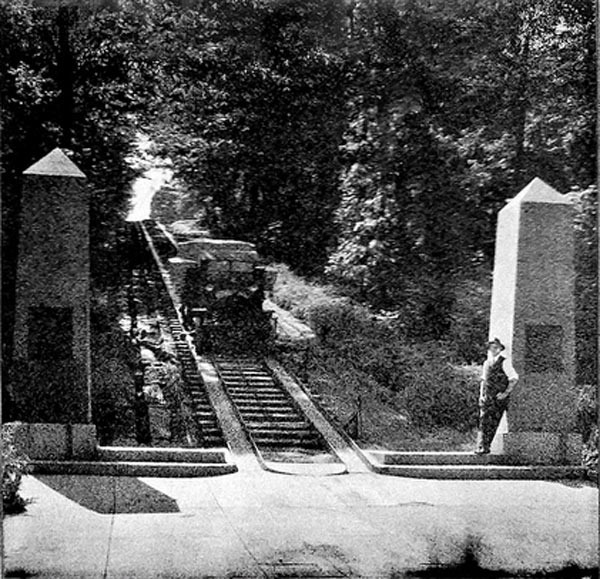 Granite Incline in 1920