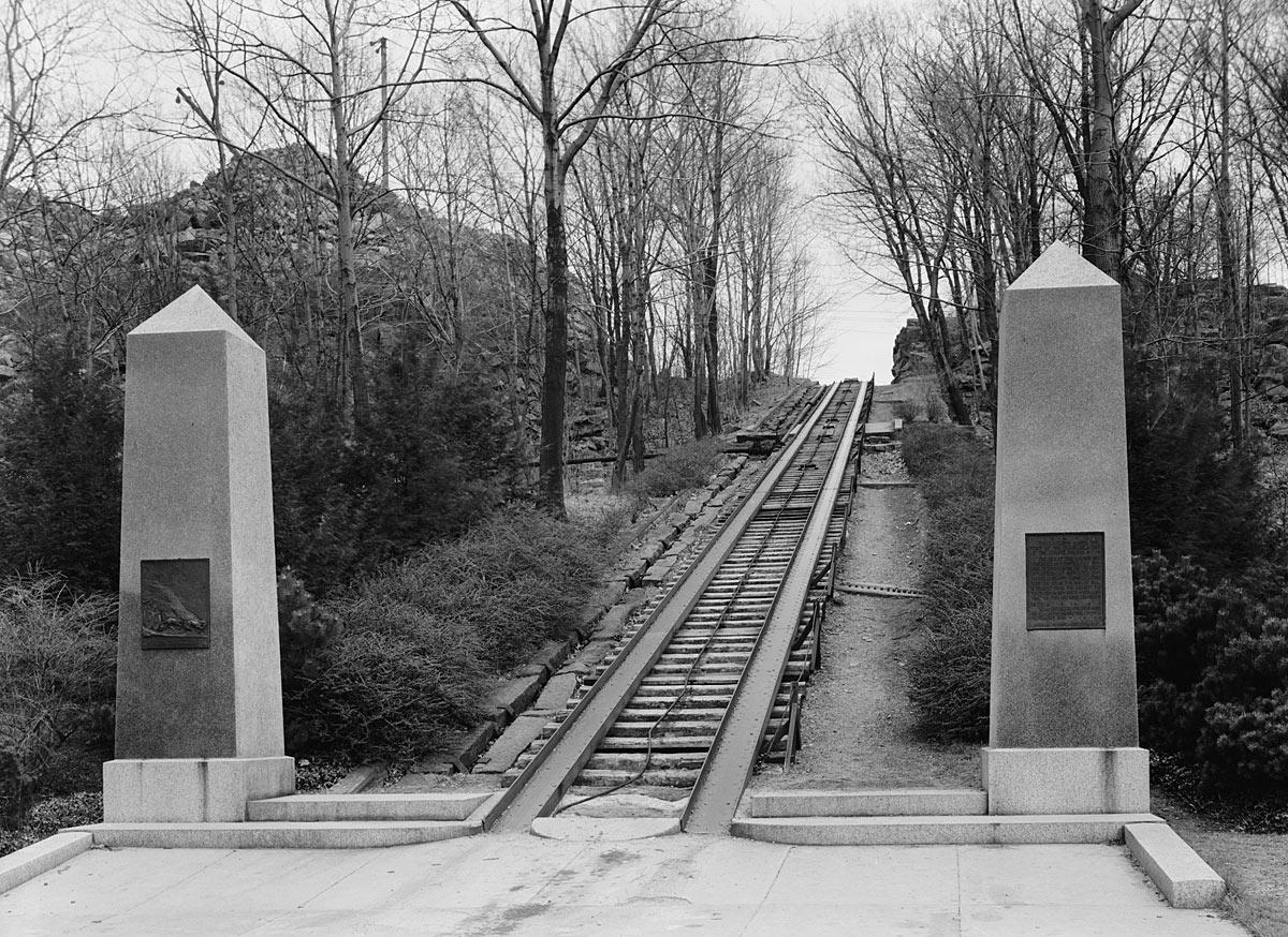 Granite Incline in 1934