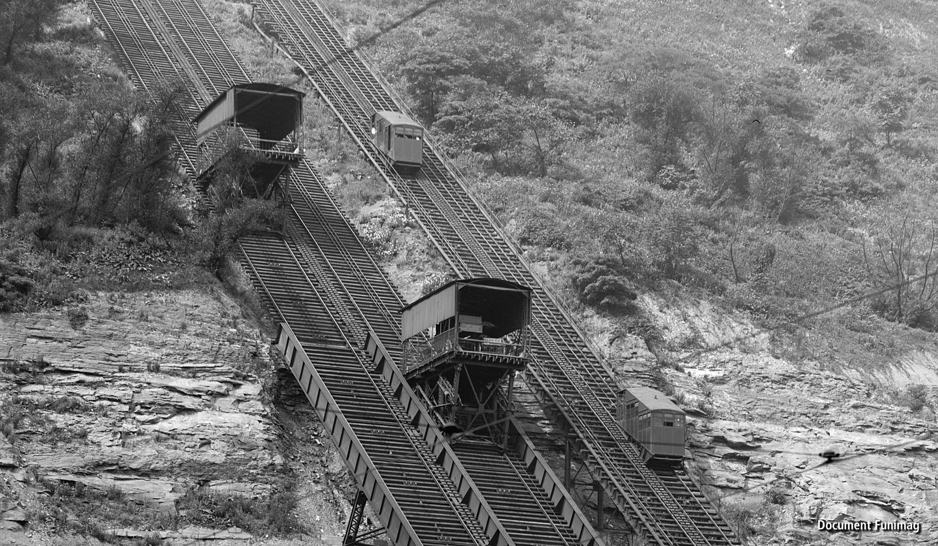 Pittsburgh Monongahela Inclines 1905