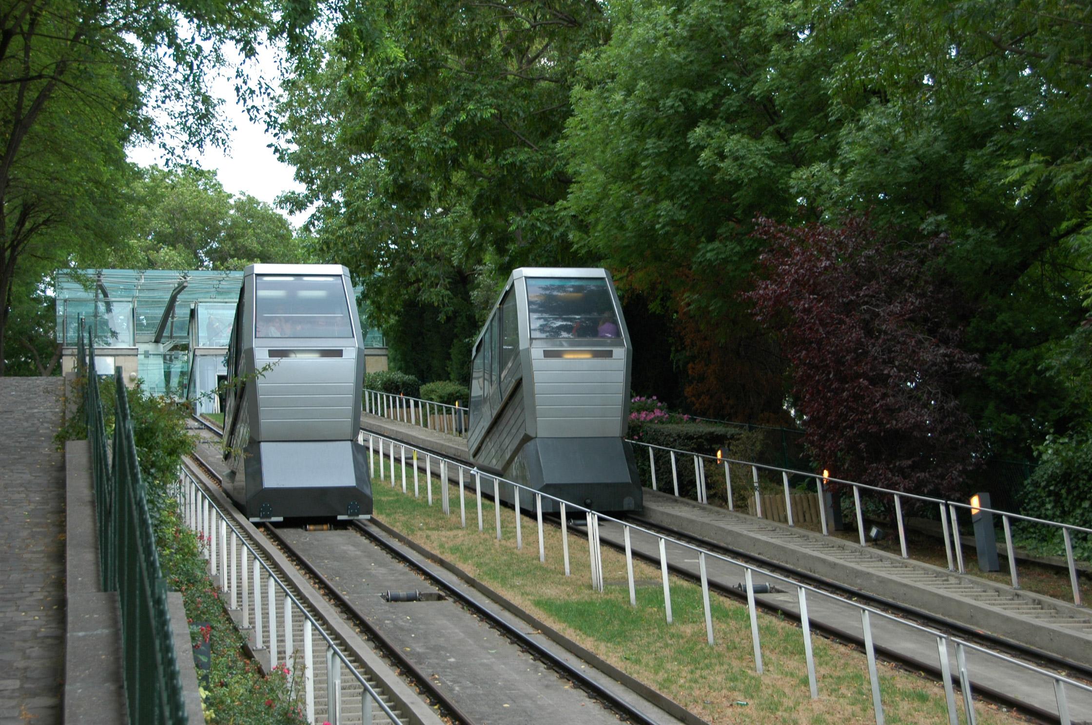 Funiculaire de Montmartre en 2008 / Montmartre Funicular in 2008