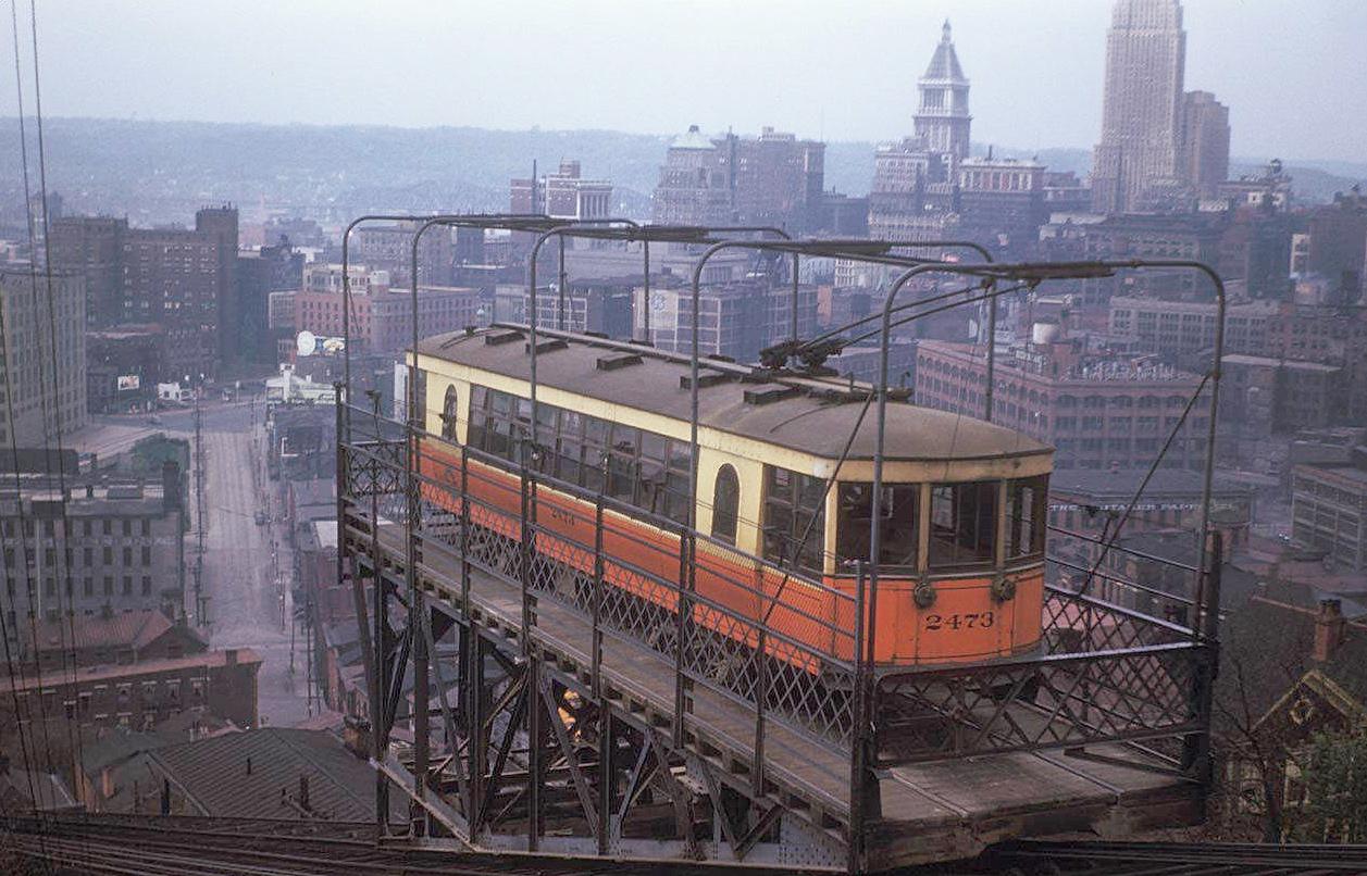 Cincinnati / Mount Adams Incline (1876-1948)