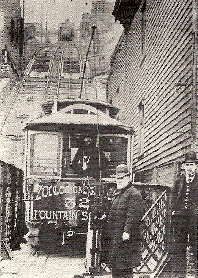 Cincinnati / Mount Auburn Incline (1871-1898)