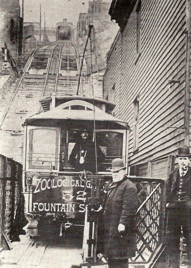 Cincinnati / Mount Auburn Incline (1871-1898)