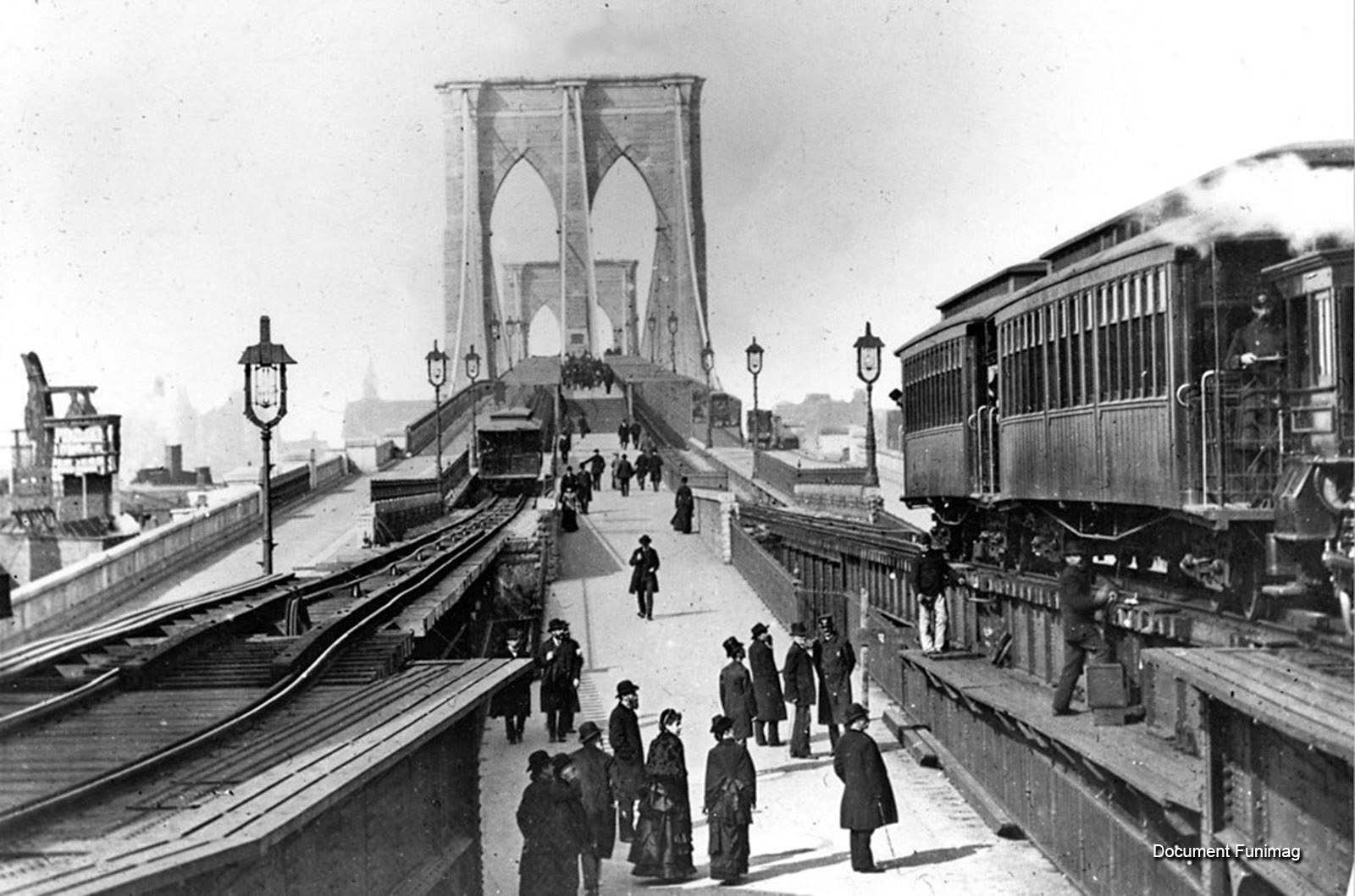 New York - Brooklyn Bridge Cable Railway