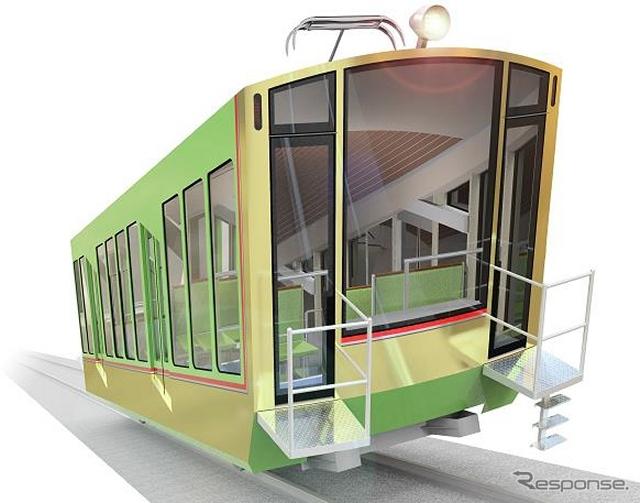 New cars for Öyama funicular