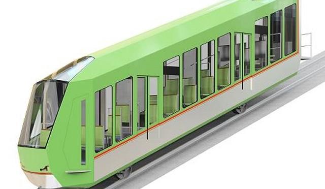 New cars for Ôyama funicular
