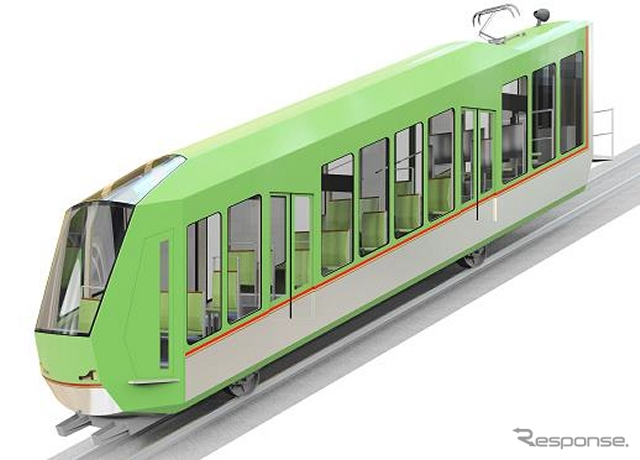 New cars for Öyama funicular