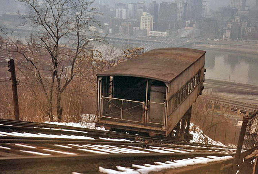 Pittsburgh - Castle Shannon Incline (1890-1964)