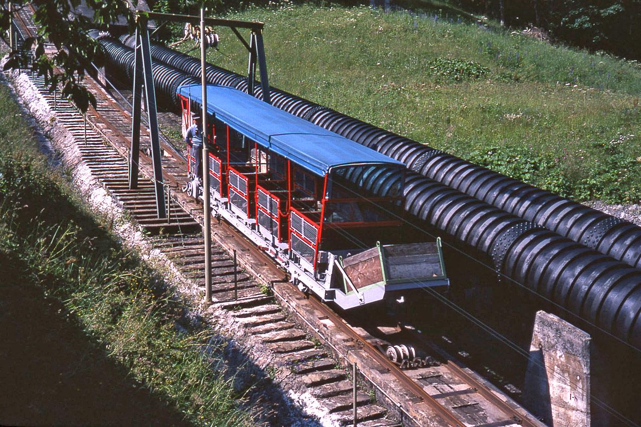 Vermuntbahn in 1978