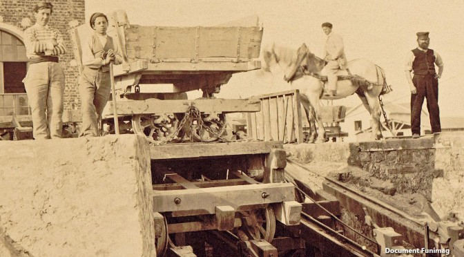 New article about the funicular for the construction of the Basilica of the Sacred Heart (Paris, France)