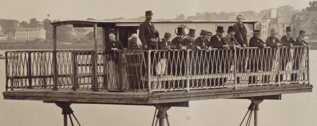 Pont roulant de Saint-Malo / Saint-Malo harbour rolling bridge