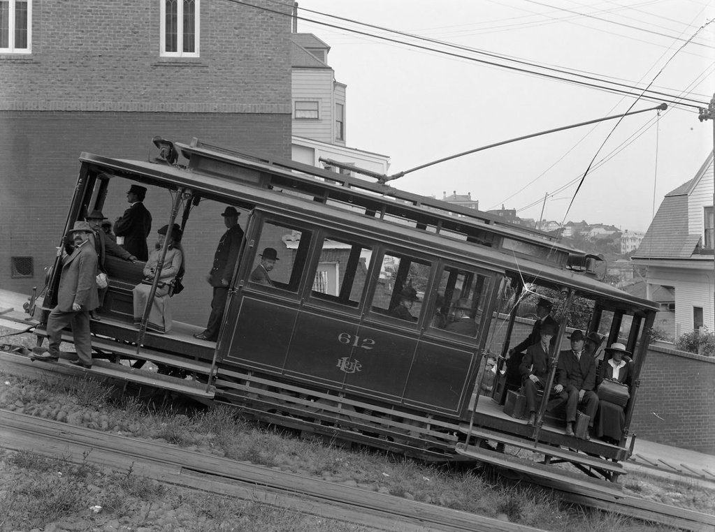 San Francisco - Fillmore Hill (1895-1941)