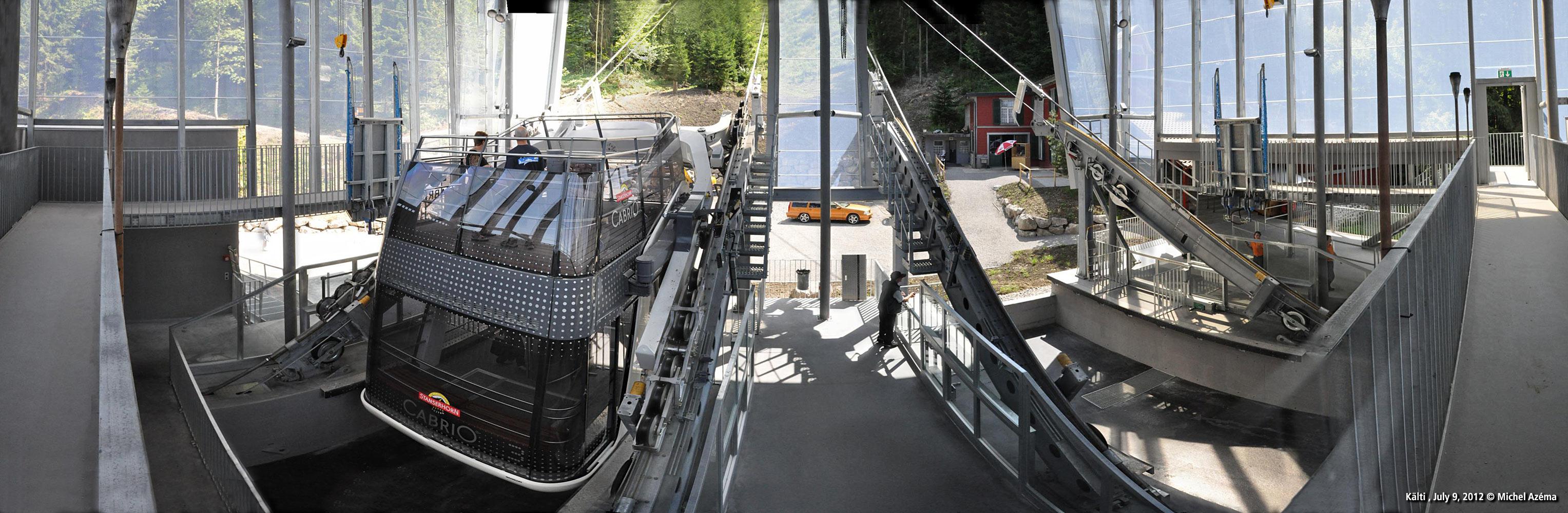 Stanserhorn CabriO at Kälti
