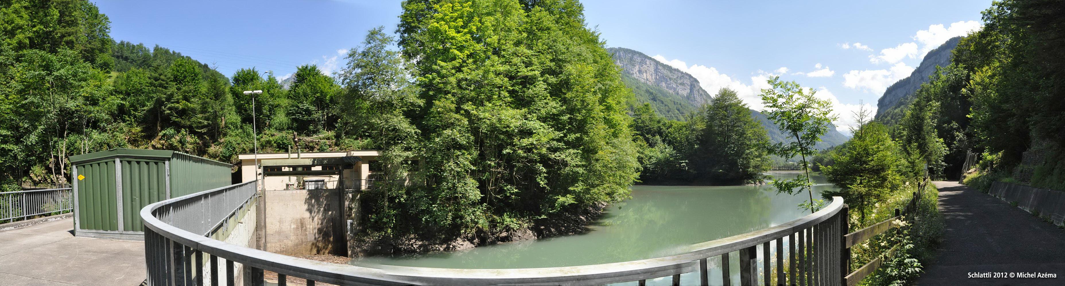 Schlattli, barrage de Selgis