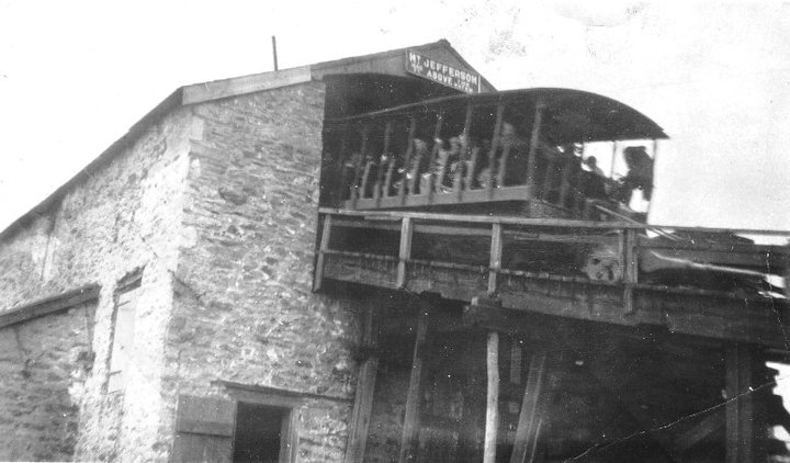 Mauch Chunk Switchback Gravity Railroad - Mount Jefferson Incline (1827-1933)