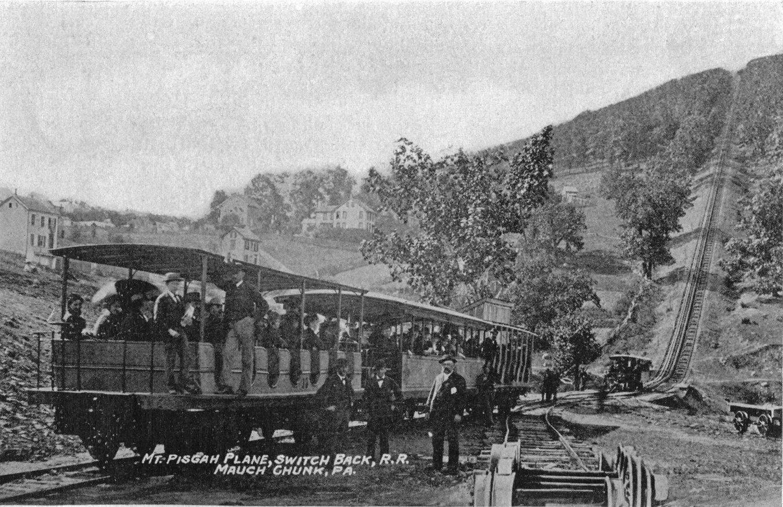 Mauch Chunk Switchback Gravity Railroad - Mount Pisgah Incline (1827-1933)