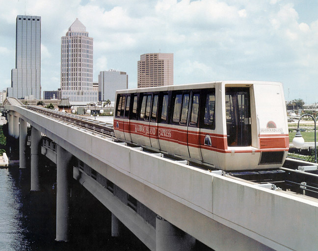 Tampa Harbour Island People Mover (1985-1999)
