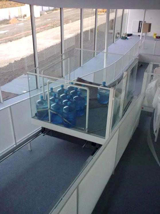 Ascenseur 3, tests de sécurité / Lift 3, security tests