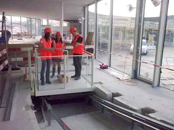 Ascenseur 2, premiers essais / Lift 2, first tests