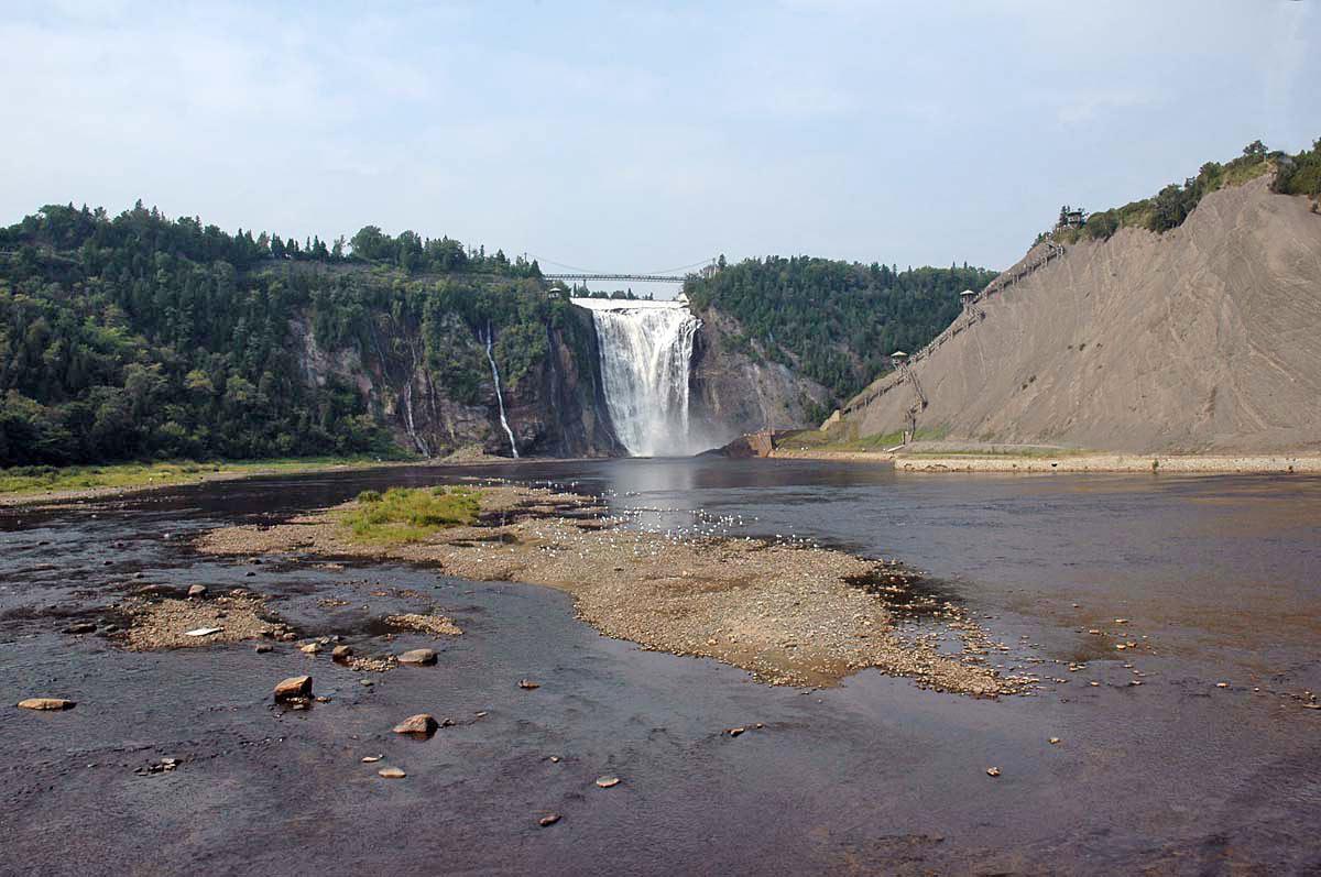 Montmorency Falls (photo Michel Desmeules)