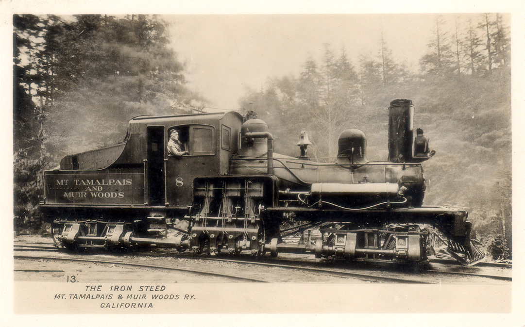 Shay geared steam locomotive