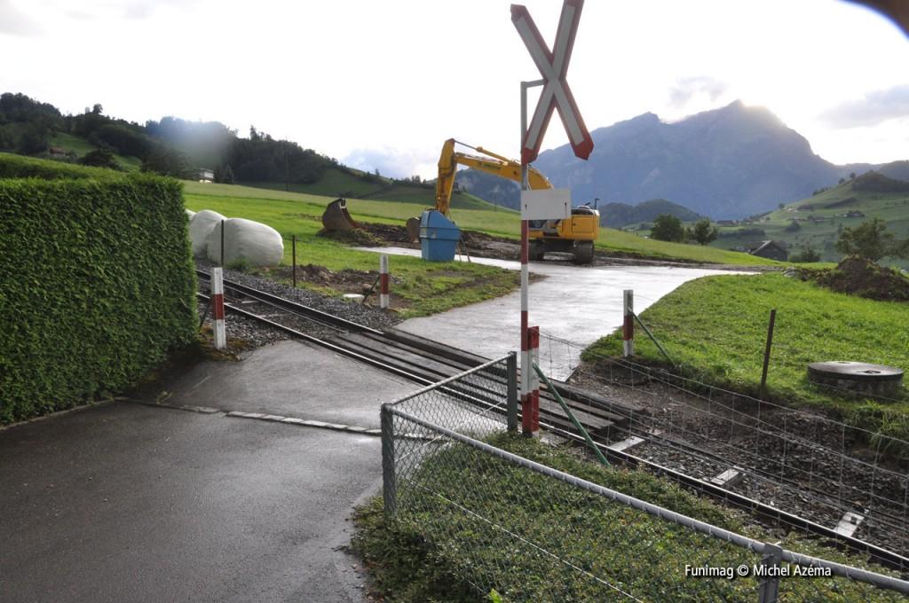 Passage à niveau 1 (18 juillet 2009) / Level crossing 1 (July 18 2009)